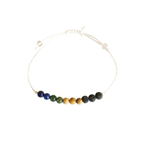 Virgo + Hemp + Choice of Anklet or Bracelet-LauraLouCrafted