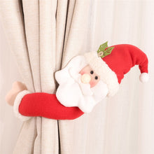 Load image into Gallery viewer, Lovely Santa Clause Snowman Curtain Buckle Christmas Decoration for Home New Year Party Decor Cloth Toys Table Decoration Dolls-LauraLouCrafted