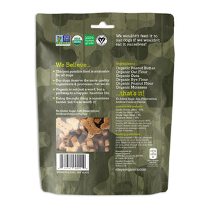Riley's Peanut Butter and Molasses Organic Dog Treats (CAMO)-LauraLouCrafted
