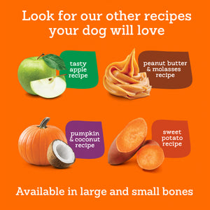 Riley's Peanut Butter and Molasses Organic Dog Treats-LauraLouCrafted