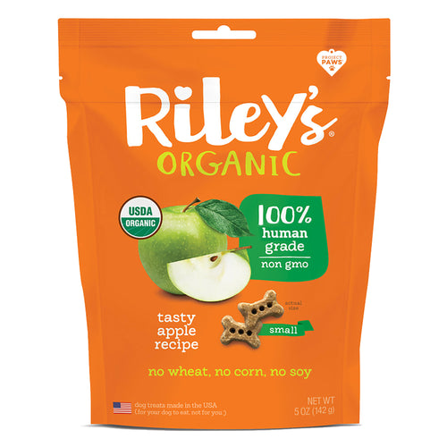 Riley's Tasty Apple Organic Dog Treats-LauraLouCrafted