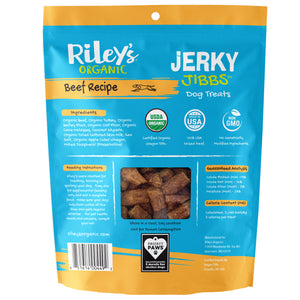 Organic Beef Jerky Jibbs (5oz)-LauraLouCrafted