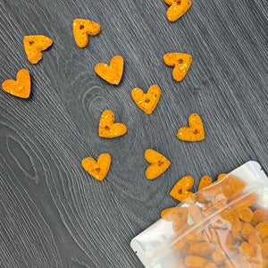 "Riley's Originals ""Thanksgiving"" Grain-Free Baked Bacon & Cheddar Dog Treats 5oz-LauraLouCrafted"