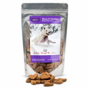 PawsGive Christmas Crunchy Cookies GF Bacon & Cheese 6 oz-LauraLouCrafted