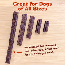 Load image into Gallery viewer, Organic Turkey & Sweet Potato Jerky Rolls (5oz)-LauraLouCrafted