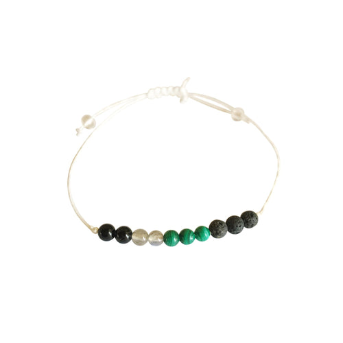 Cancer + Hemp + Choice of Anklet or Bracelet-LauraLouCrafted