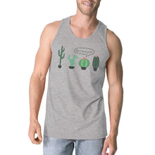 Load image into Gallery viewer, Don't Be a Prick Cactus Mens Sleeveless T-Shirt Funny Gift Tank Top-LauraLouCrafted