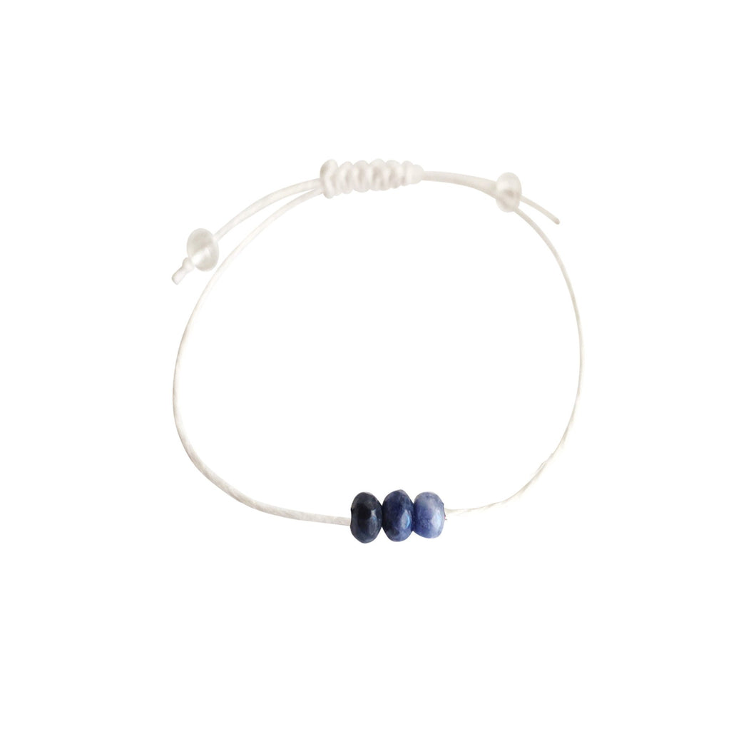 Sodalite + Hemp + Choice of Anklet or Bracelet-LauraLouCrafted