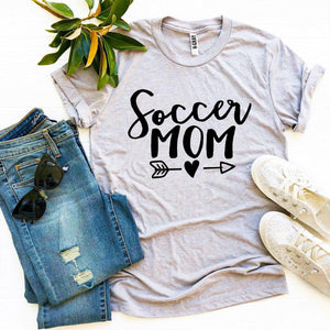 Soccer Mom T-shirt-LauraLouCrafted