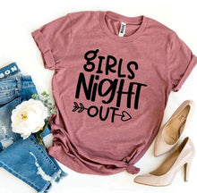 Load image into Gallery viewer, Girls Night Out T-shirt-LauraLouCrafted
