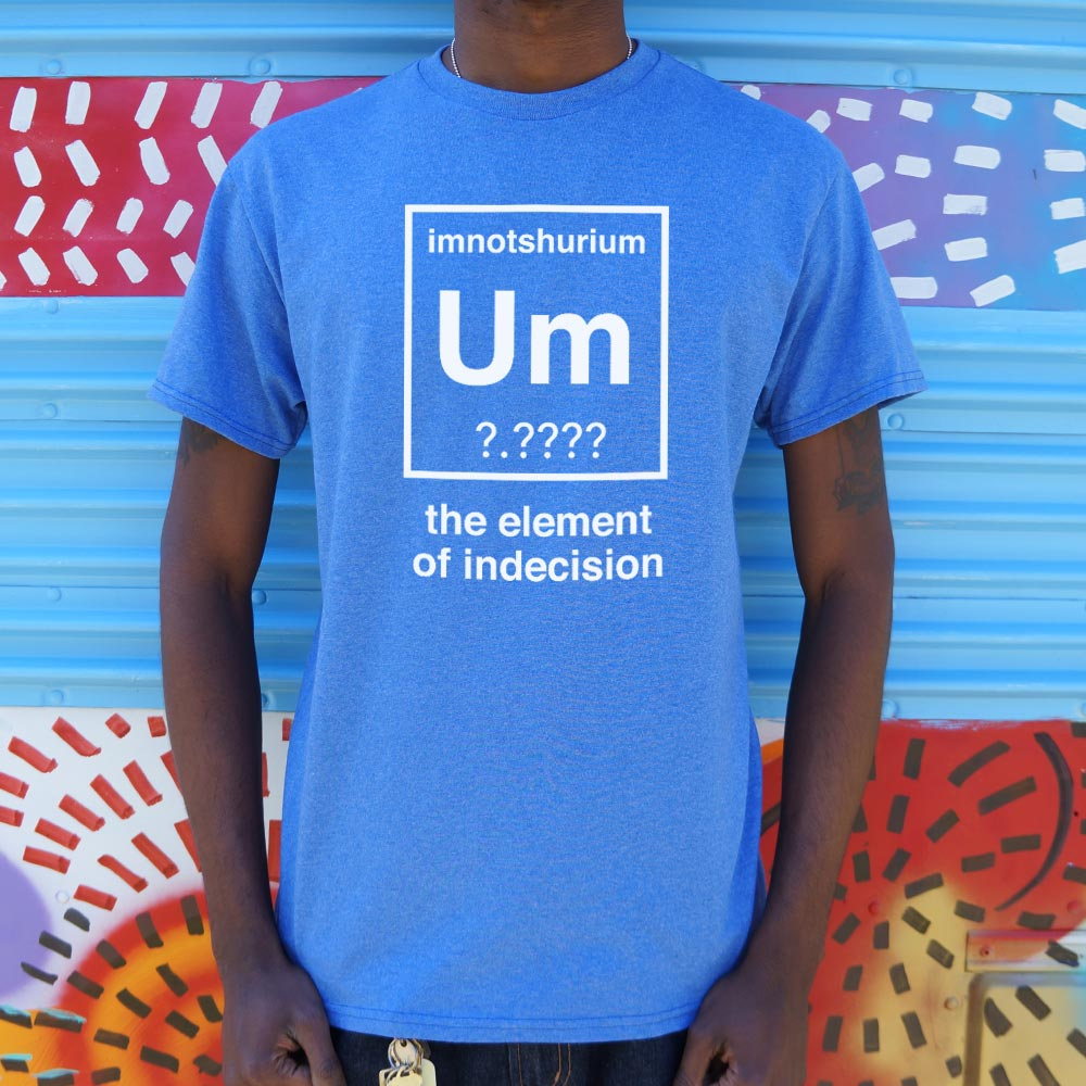 Element Of Indecision T-Shirt (Mens)-LauraLouCrafted