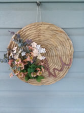 Load image into Gallery viewer, Hi floral hyacinth charger wreath-LauraLouCrafted