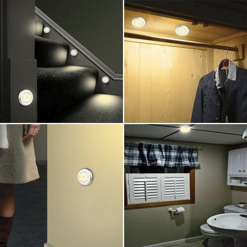Various locations in the home for motion sensor light