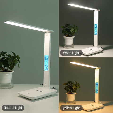 Various lighting ambients for the wireless charging desk lamp