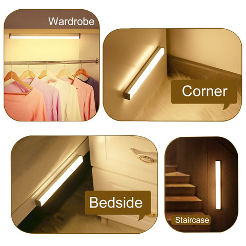 Various places in the home for motion sensor light
