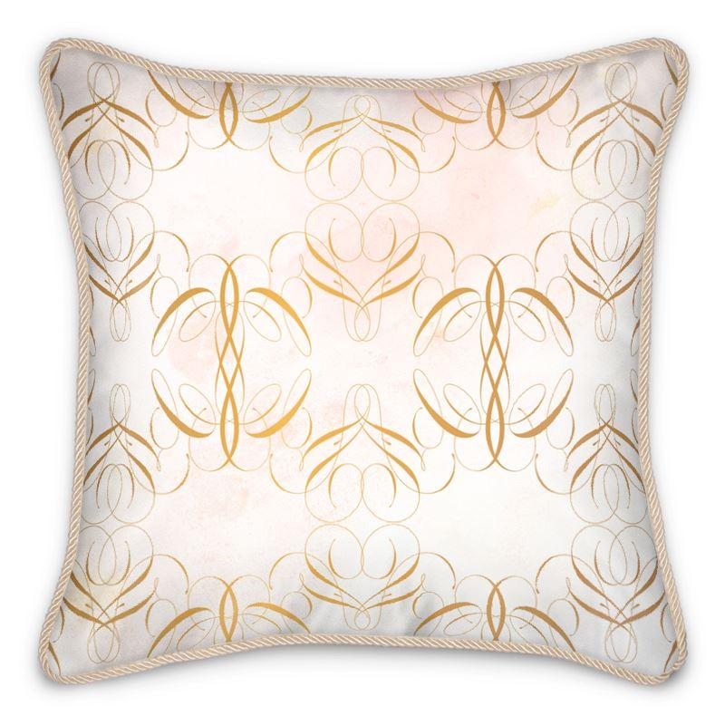 Castlefield Design Abella Silk Cushion