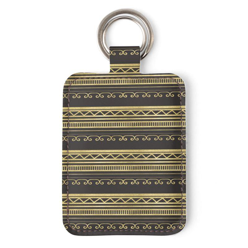 Castlefield Design African Luxe Keyring