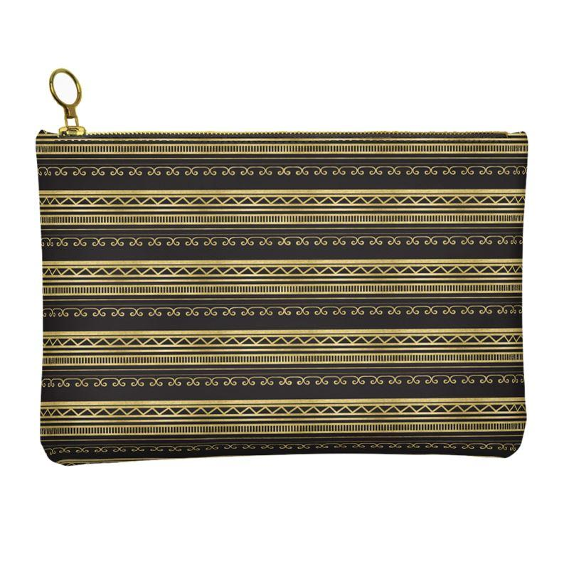 Castlefield Design African Luxe Leather Clutch