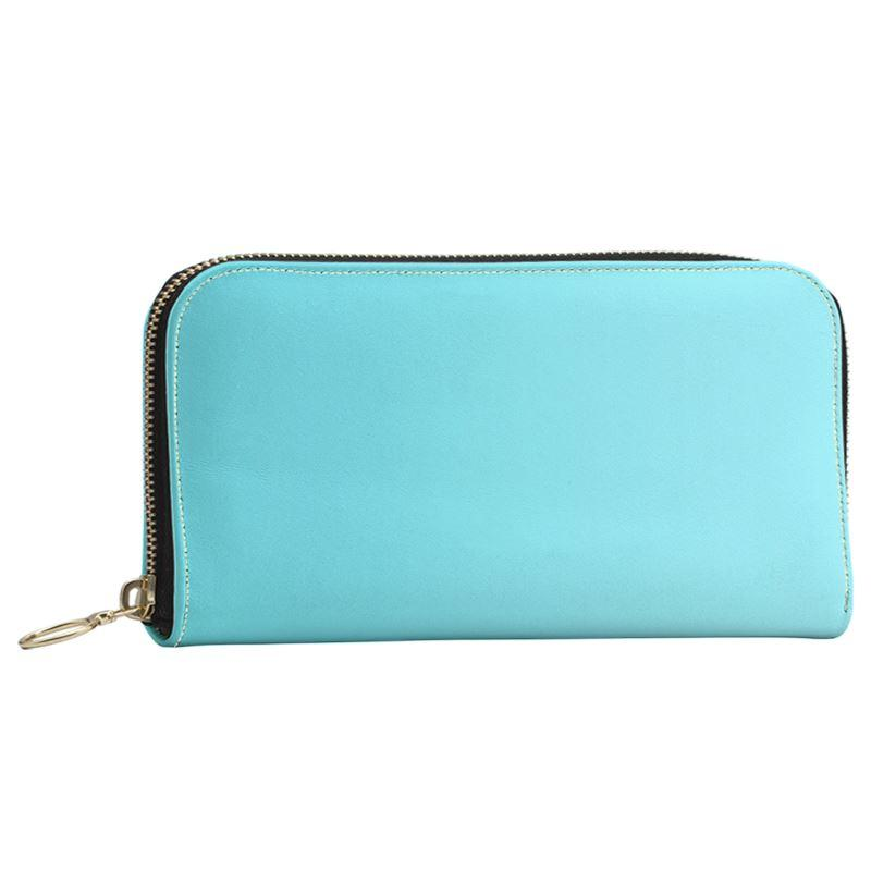 Castlefield Design Aqua Large Wallet