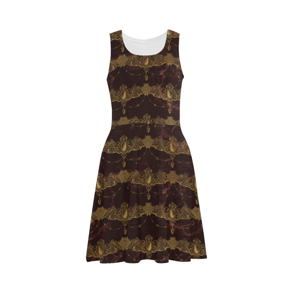 Castlefield Design Baroque Jewels Flare Dress