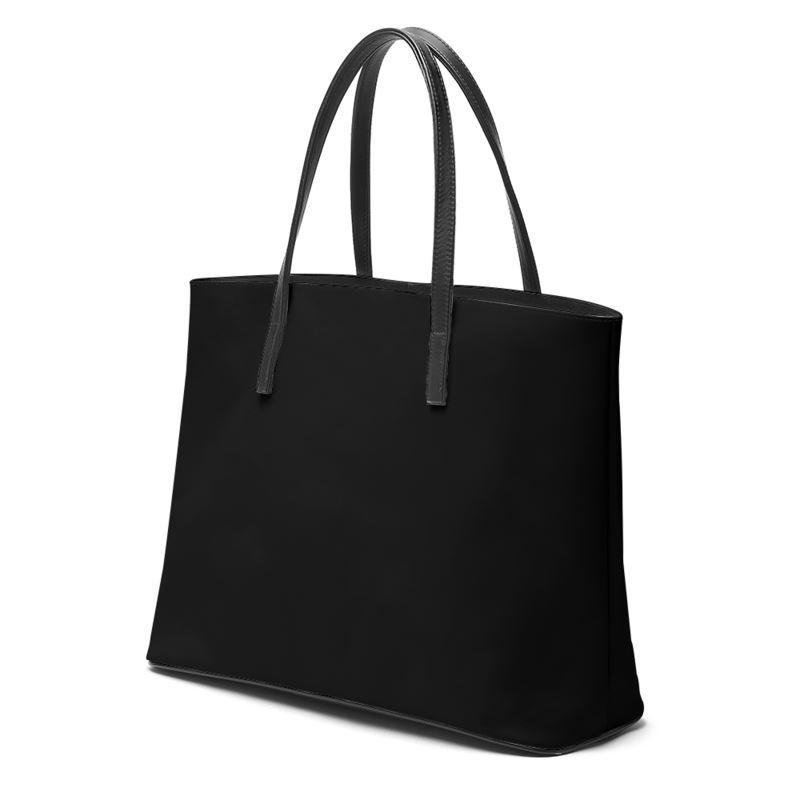 Castlefield Design Black Leather Tote