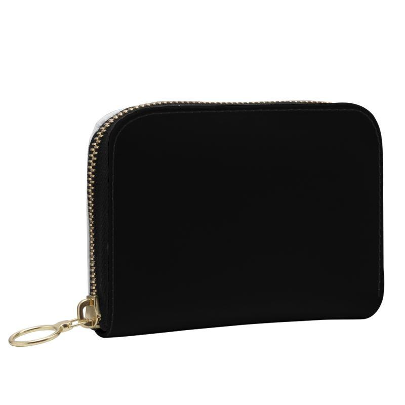Castlefield Design Black Small Wallet