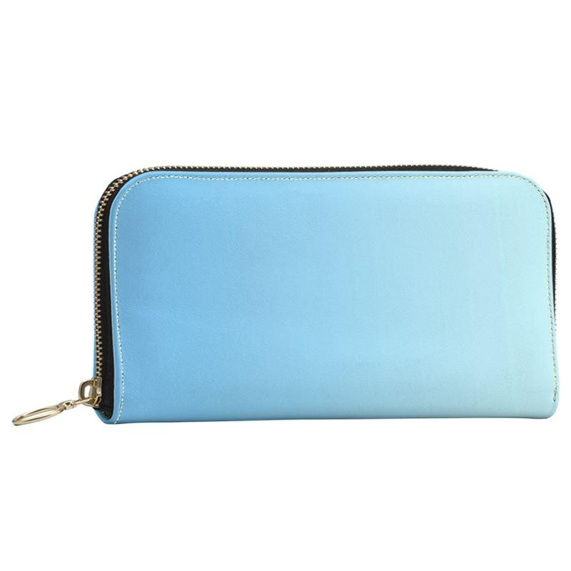 Castlefield Design Blue Large Wallet