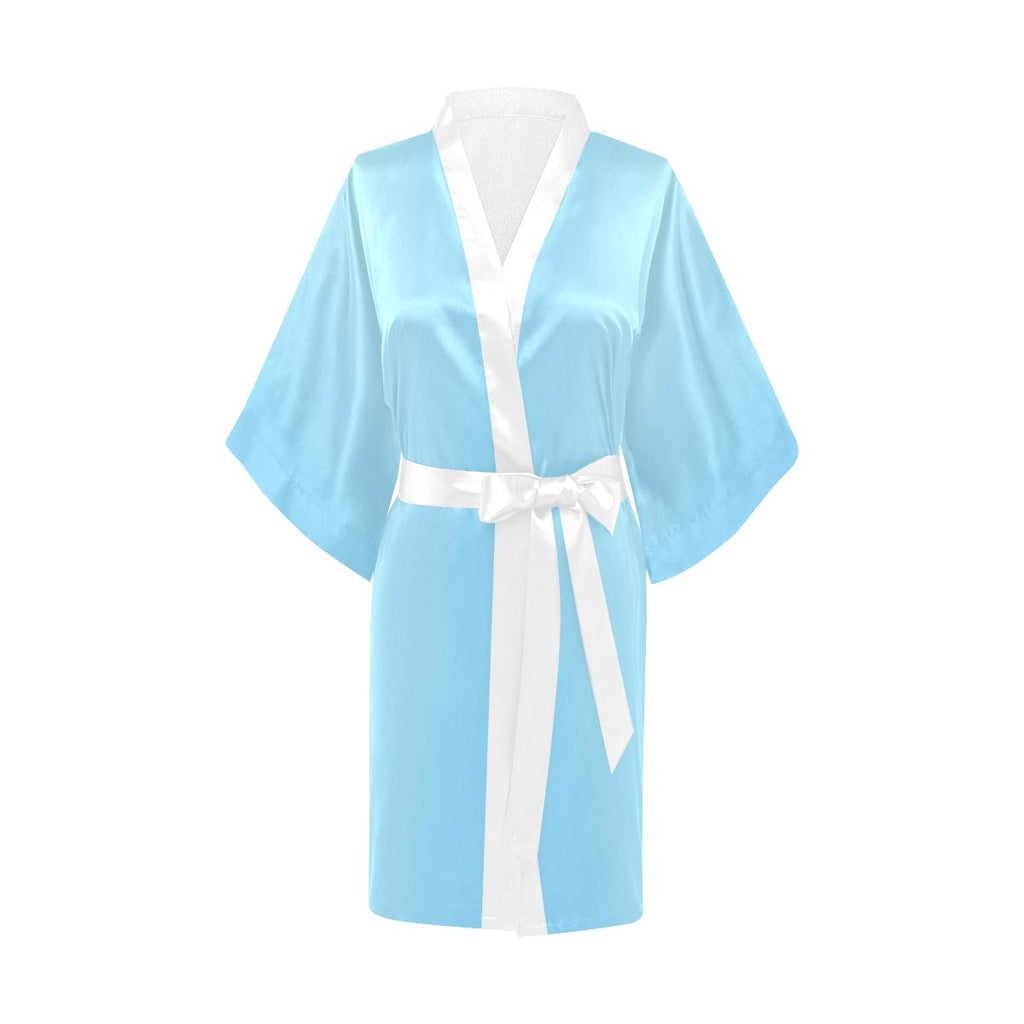 Castlefield Design Blue Satin Robe