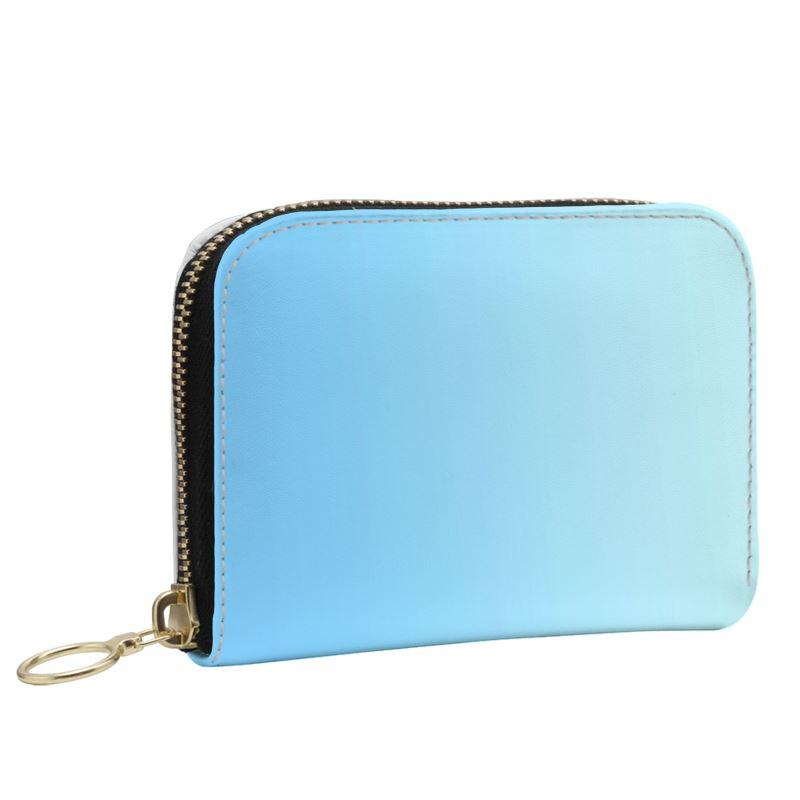 Castlefield Design Blue Small Wallet