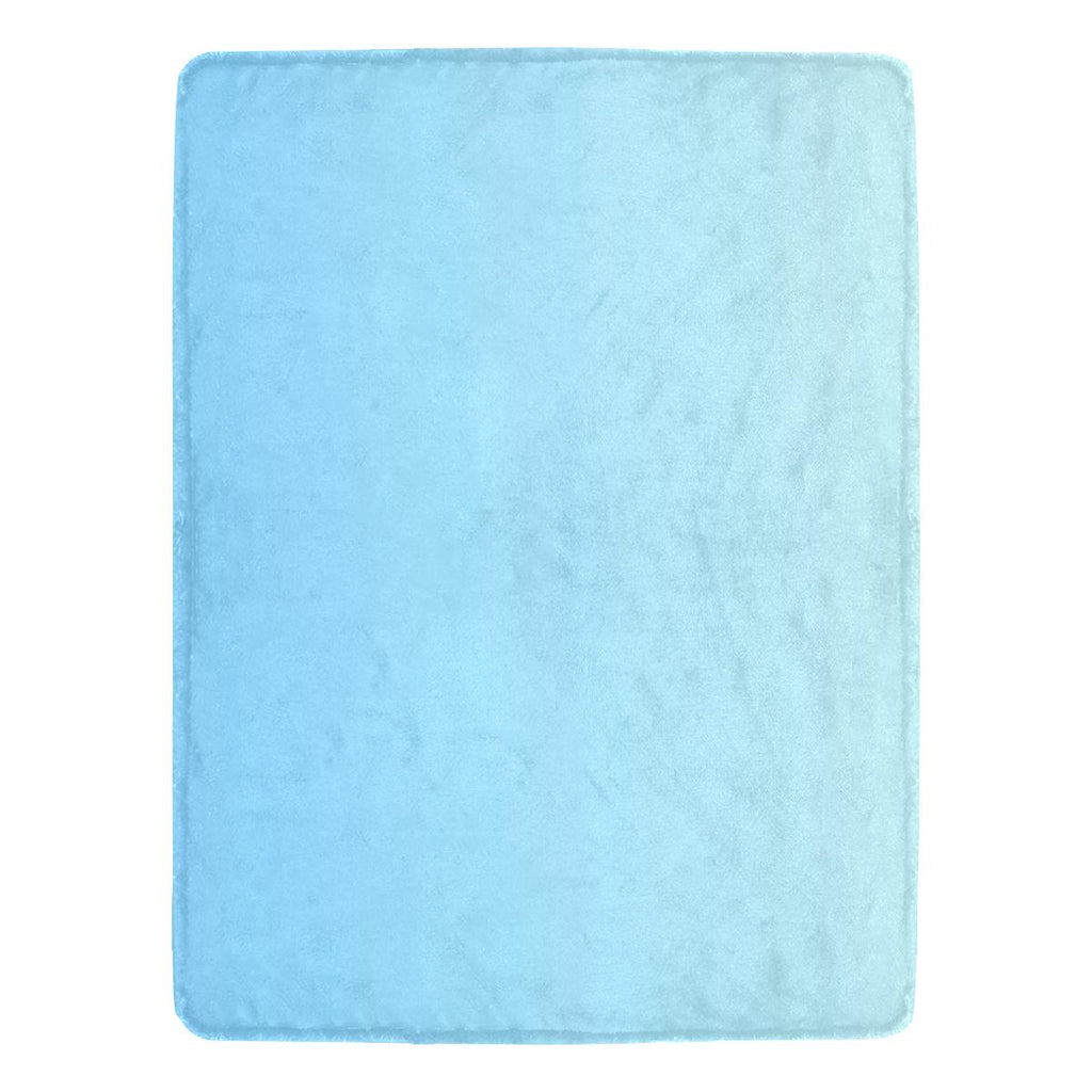 Castlefield Design Blue Throw Blanket
