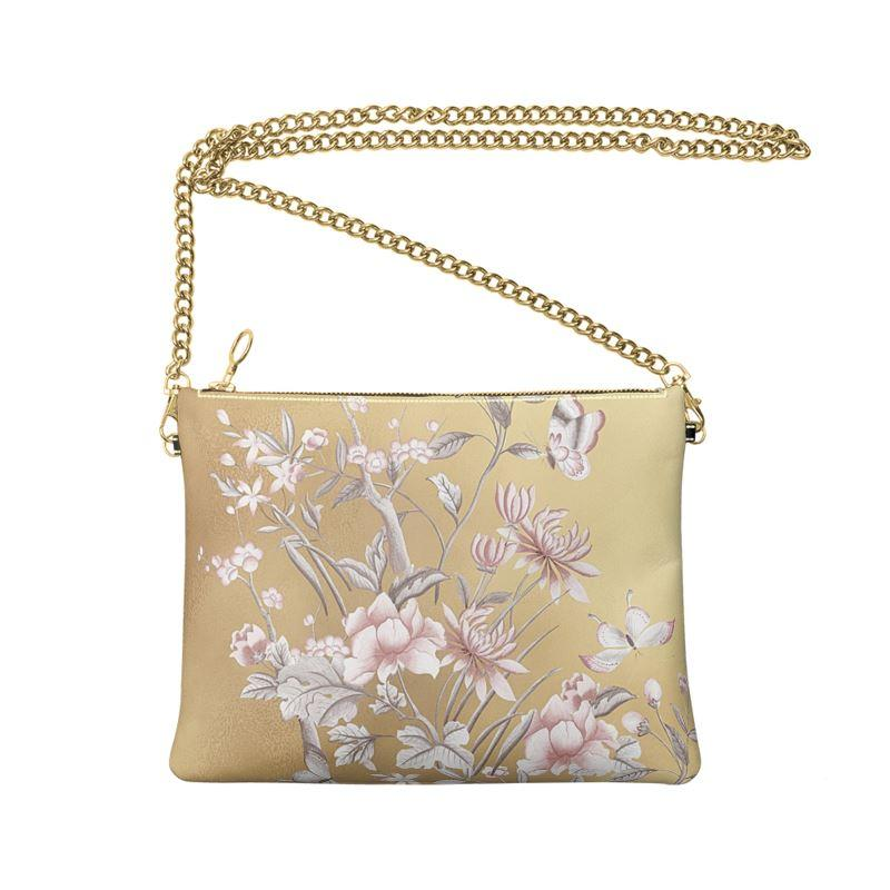 Castlefield Design Chinoiserie Gold Crossbody Bag