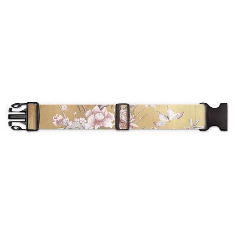 Castlefield Design Chinoiserie Gold Luggage Strap