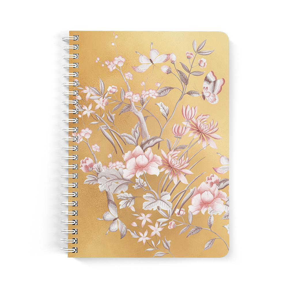 Castlefield Design Chinoiserie Gold Notebooks
