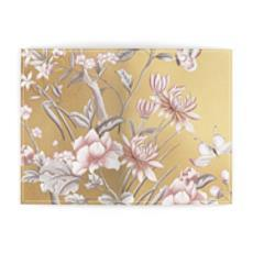 Castlefield Design Chinoiserie Gold Passport Cover