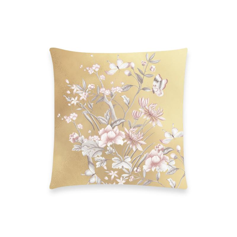 Castlefield Design Chinoiserie Gold Pillow Cases
