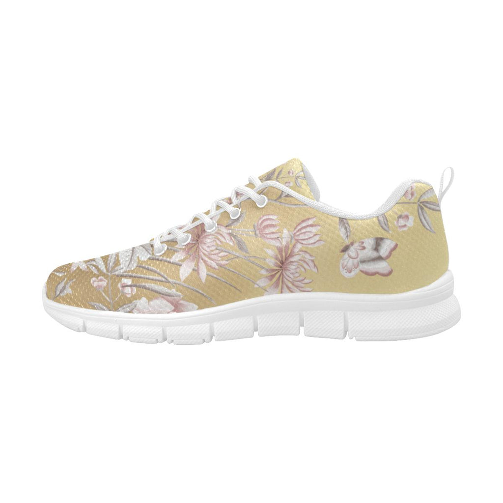 Castlefield Design Chinoiserie Gold Sneakers