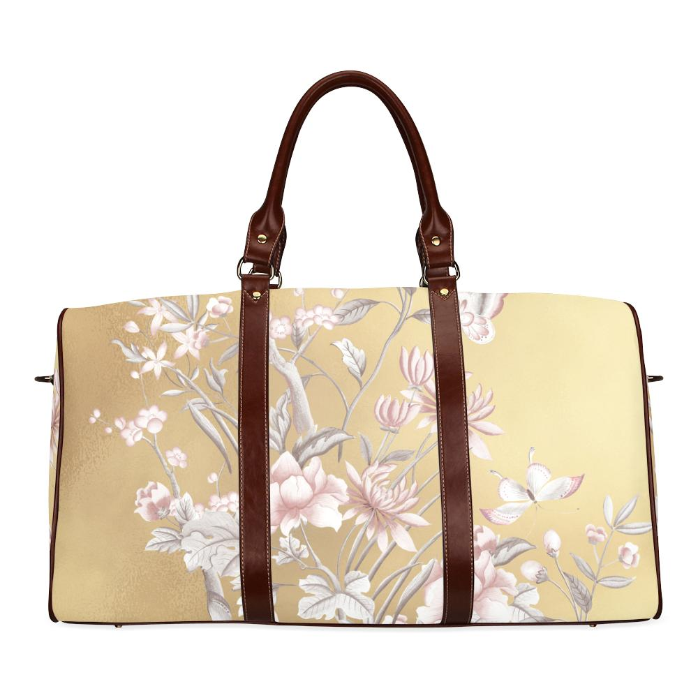 Castlefield Design Chinoiserie Gold Travel Bags