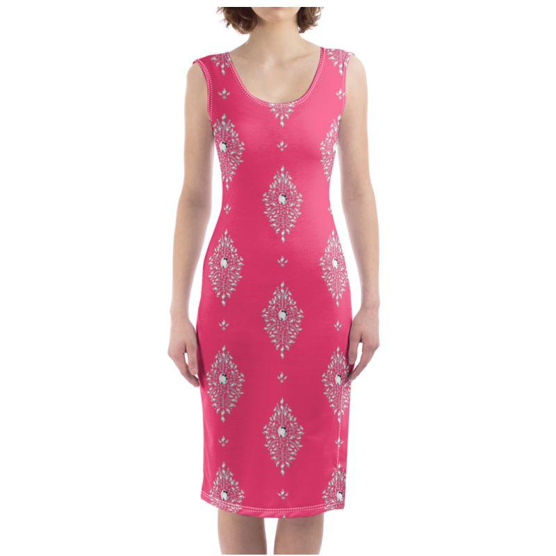 Castlefield Design Diamonds Bodycon Dress
