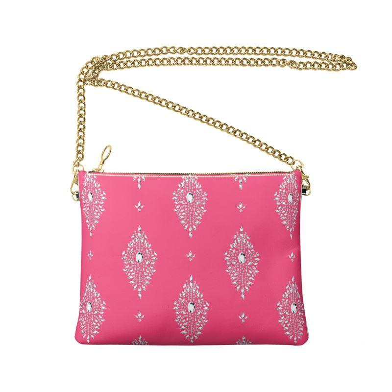 Castlefield Design Diamonds Crossbody Bag