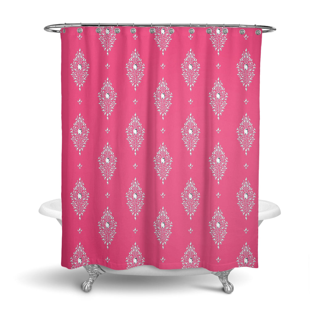 Castlefield Design Diamonds Shower Curtain