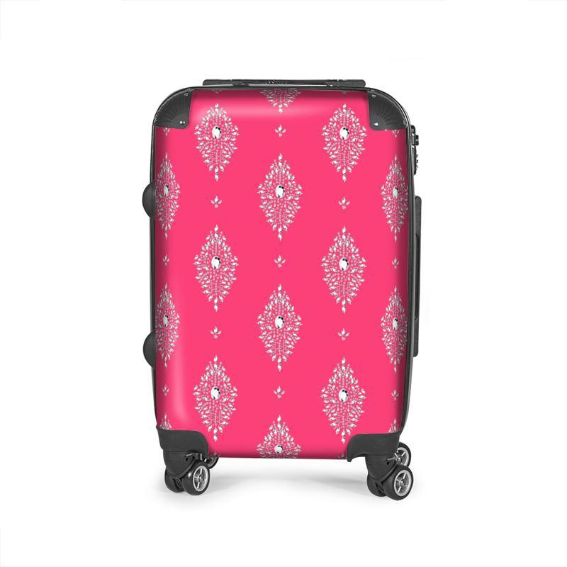 Castlefield Design Diamonds Suitcase