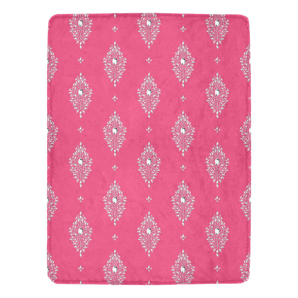 Castlefield Design Diamonds Throw Blanket