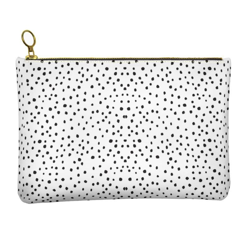 Castlefield Design Dots Leather Clutch