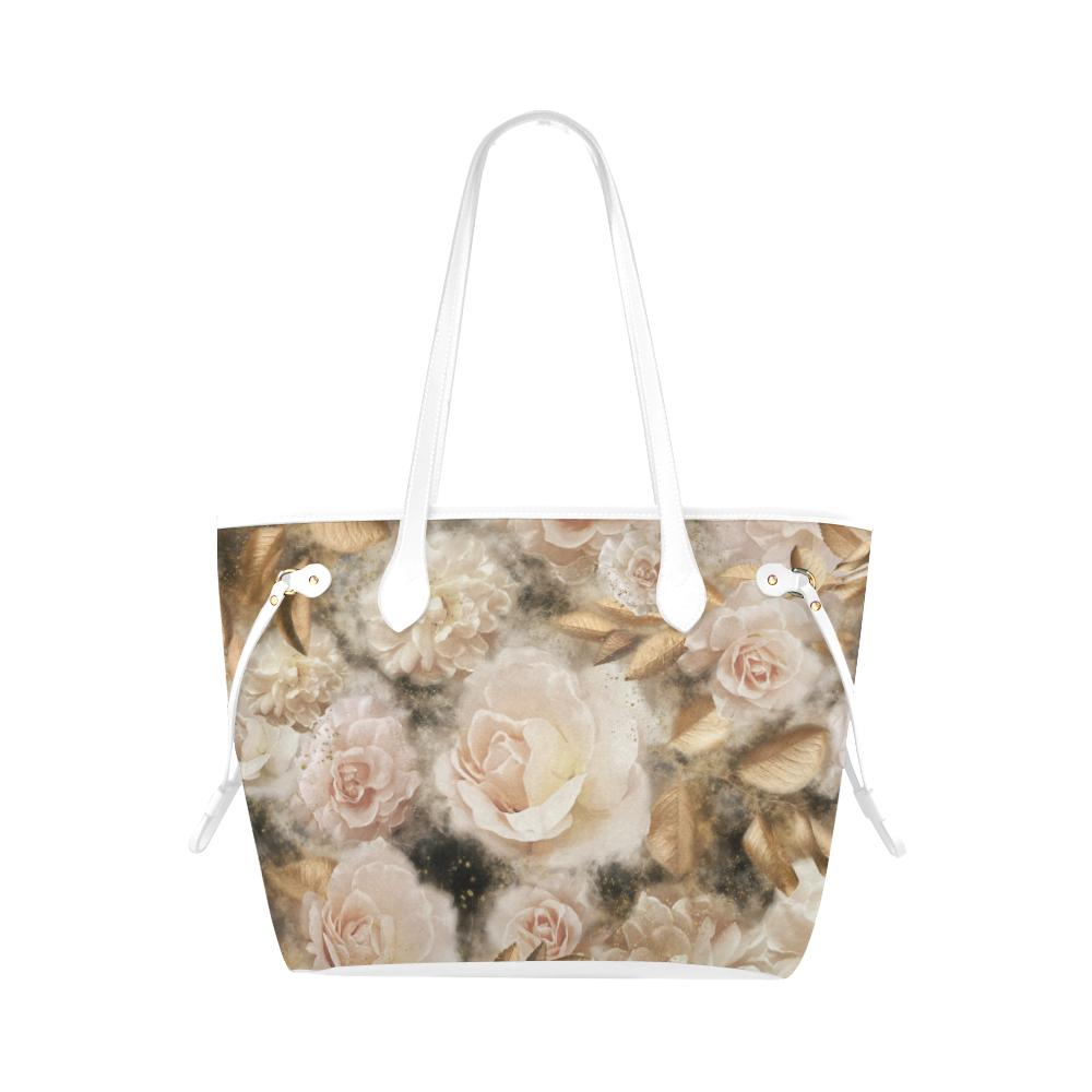 Castlefield Design Dreamy Floral Canvas Tote