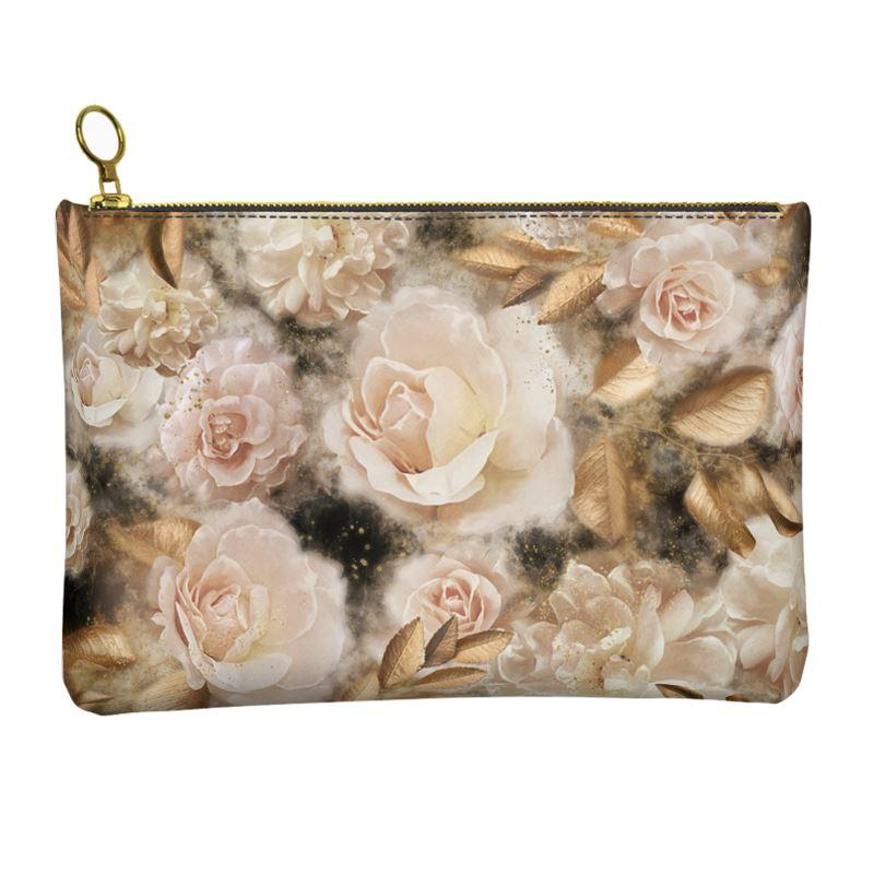 Castlefield Design Dreamy Floral Leather Clutch