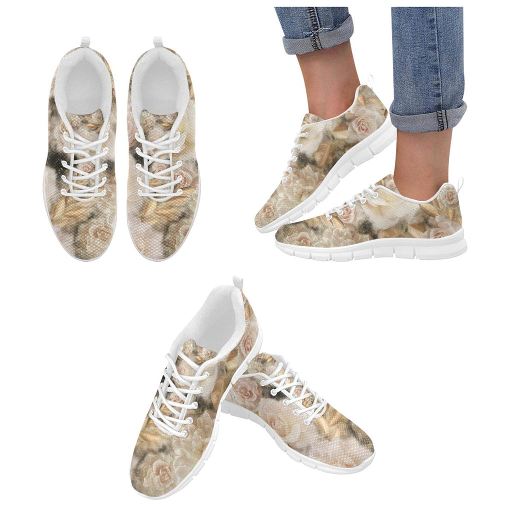 Castlefield Design Dreamy Floral Sneakers