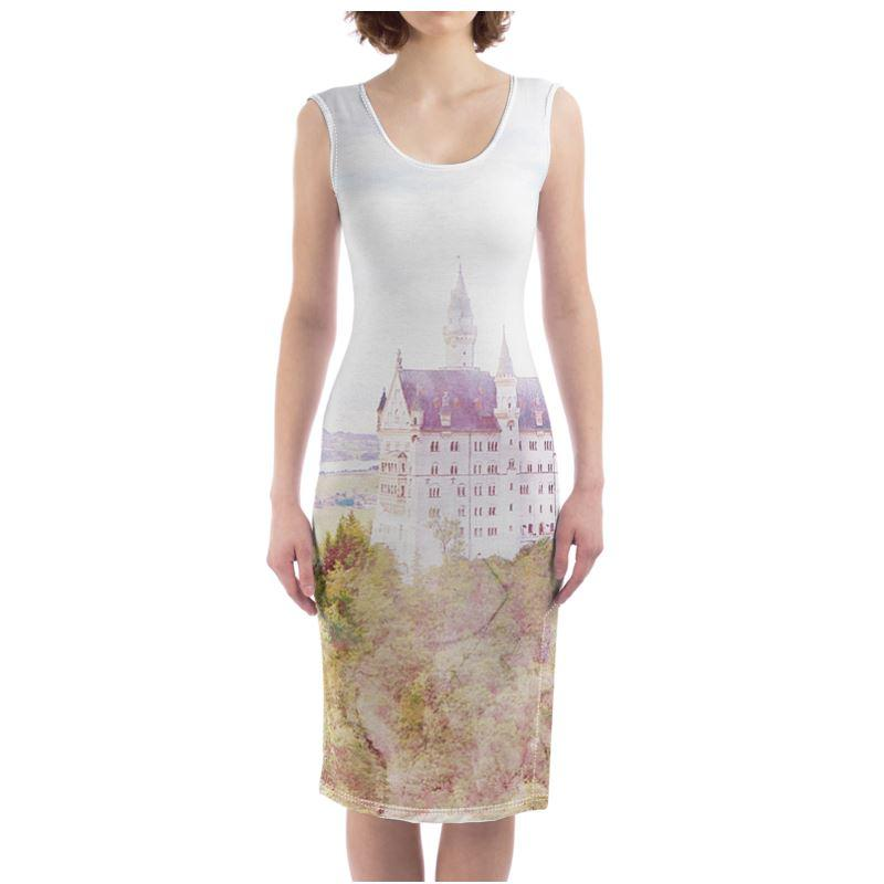 Castlefield Design Fairytale Castle Bodycon Dress