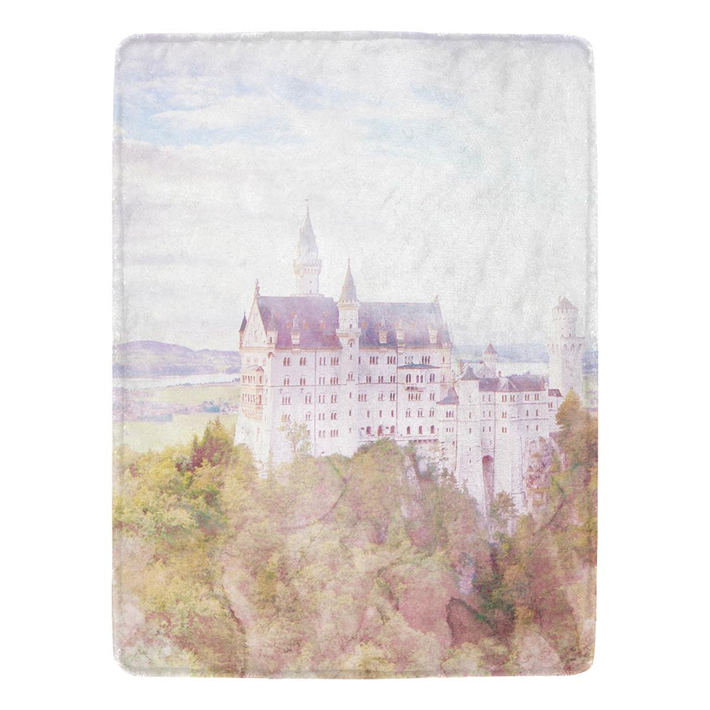 Castlefield Design Fairytale Castle Throw Blanket