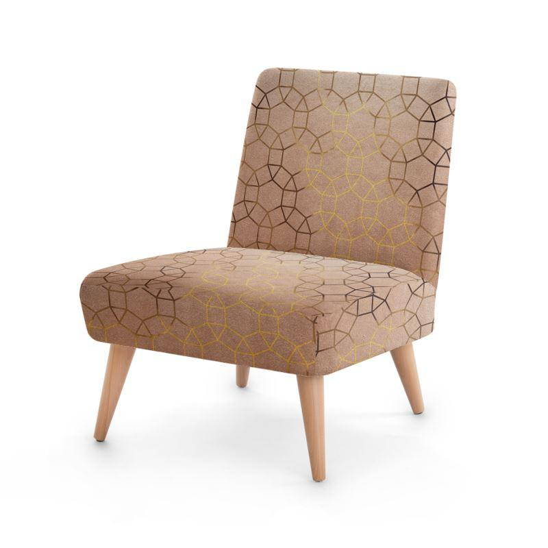 Castlefield Design Glam Geometric Chair