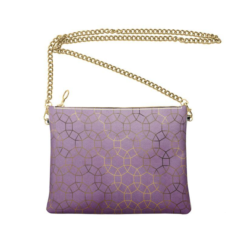 Castlefield Design Glam Geometric Crossbody Bag
